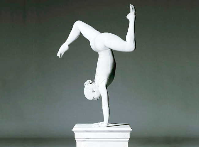 Beth Tweddle Gymnast Sculpture