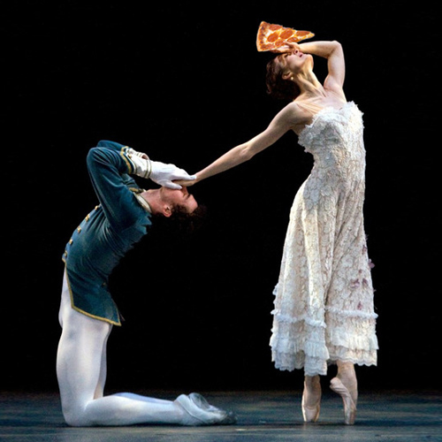 reaching for pizza - julie kent