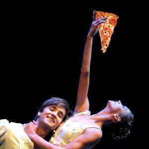 reaching for pizza - polina semionova