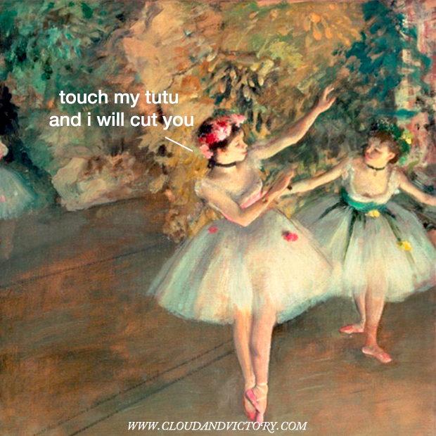 Famous Degas Ballerina Paintings