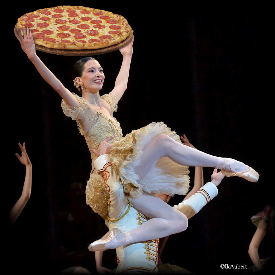 Reaching for Pizza - Hannah O'Neill, POB