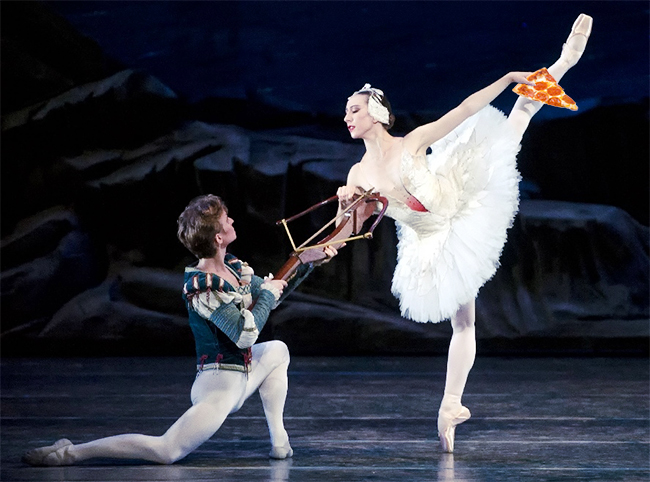 Reaching for Pizza - Isabella Boylston